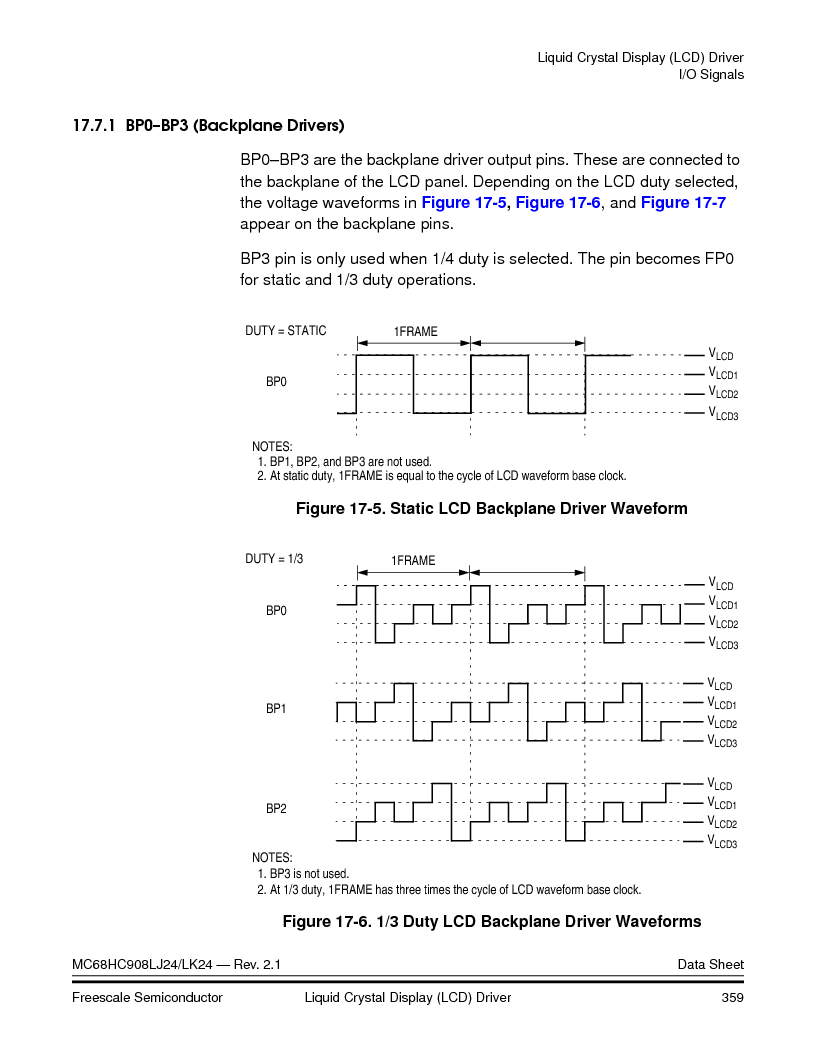 MC908LJ24CFUER ,Freescale Semiconductor厂商,IC MCU 24K FLASH 8MHZ SPI 64-QFP, MC908LJ24CFUER datasheet预览  第359页