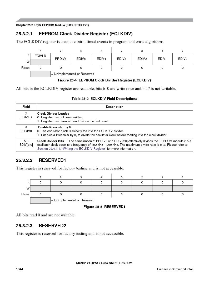 MC9S12XD128MAL ,Freescale Semiconductor厂商,MCU 16BIT 128K FLASH 112-LQFP, MC9S12XD128MAL datasheet预览  第1042页