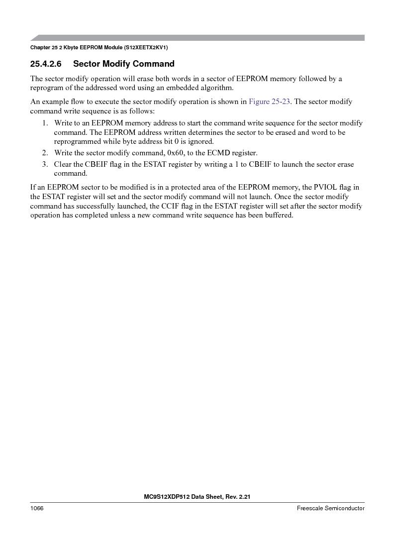 MC9S12XD128MAL ,Freescale Semiconductor厂商,MCU 16BIT 128K FLASH 112-LQFP, MC9S12XD128MAL datasheet预览  第1064页