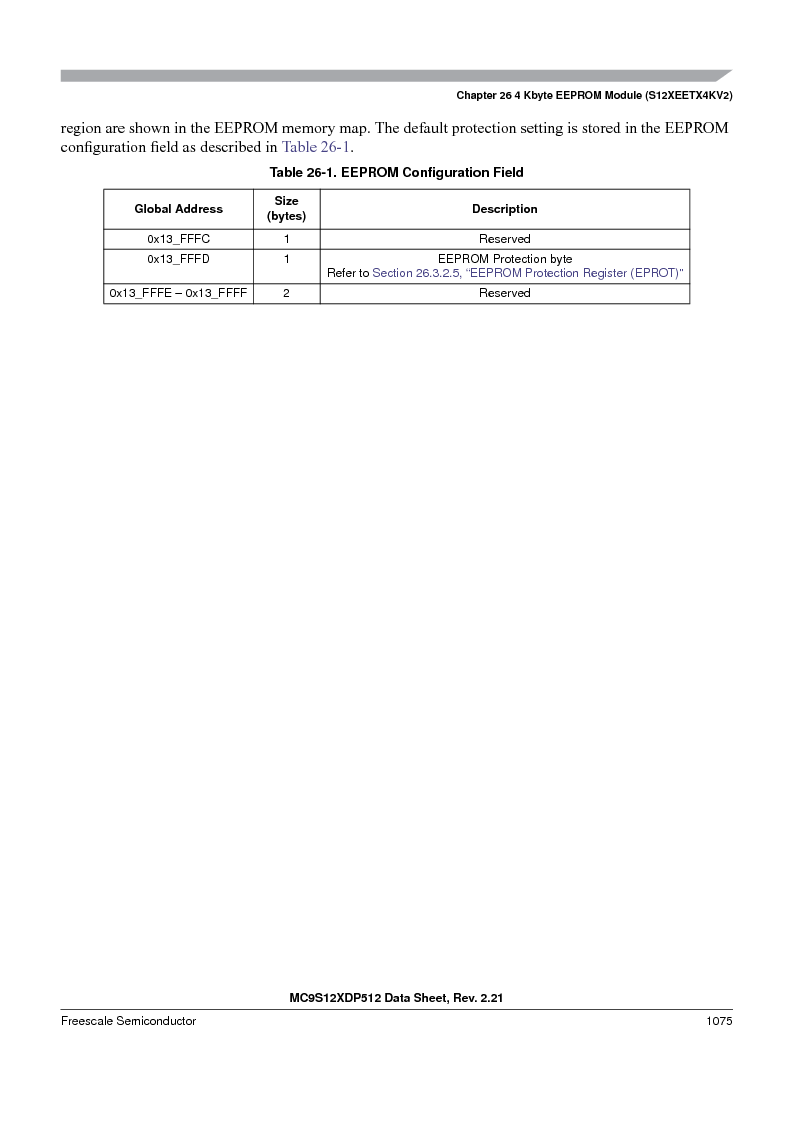 MC9S12XD128MAL ,Freescale Semiconductor厂商,MCU 16BIT 128K FLASH 112-LQFP, MC9S12XD128MAL datasheet预览  第1073页