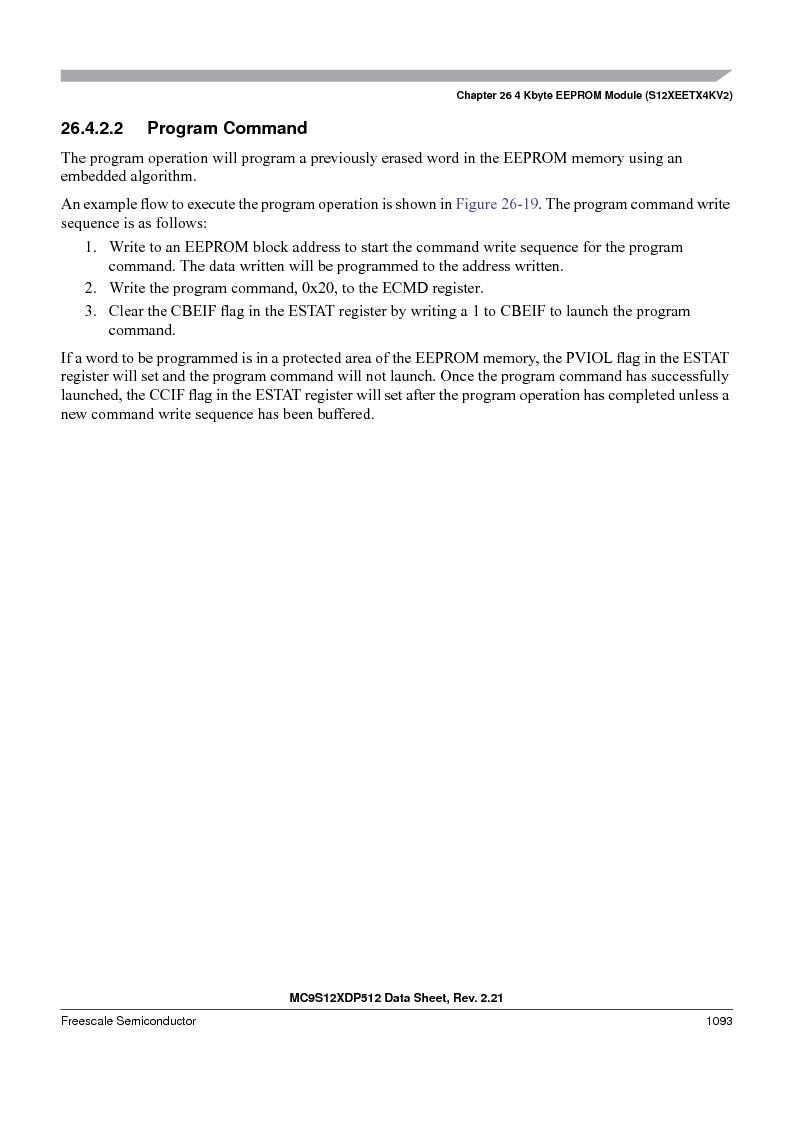 MC9S12XD128MAL ,Freescale Semiconductor厂商,MCU 16BIT 128K FLASH 112-LQFP, MC9S12XD128MAL datasheet预览  第1091页