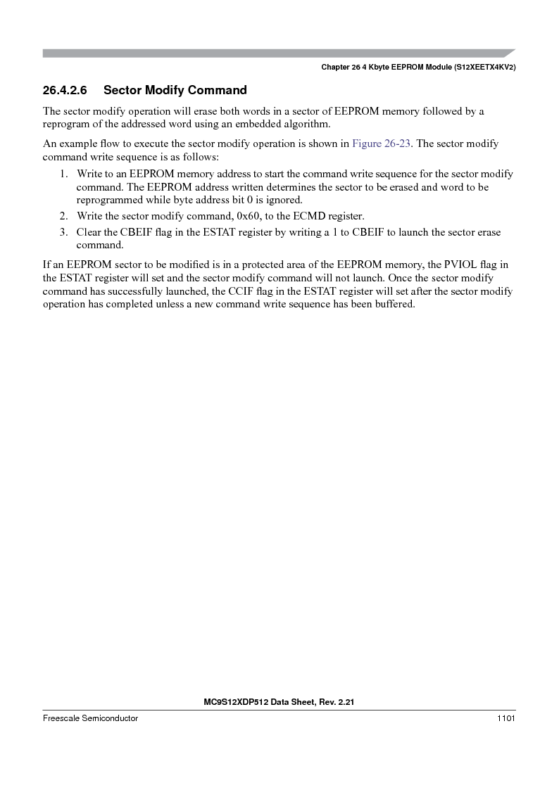 MC9S12XD128MAL ,Freescale Semiconductor厂商,MCU 16BIT 128K FLASH 112-LQFP, MC9S12XD128MAL datasheet预览  第1099页