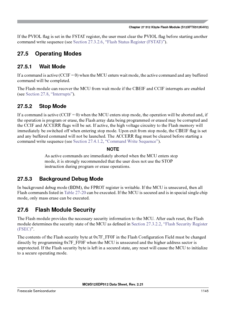 MC9S12XD128MAL ,Freescale Semiconductor厂商,MCU 16BIT 128K FLASH 112-LQFP, MC9S12XD128MAL datasheet预览  第1143页