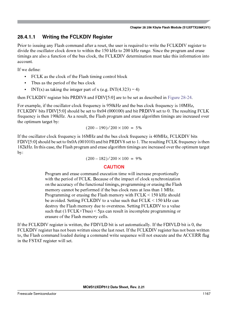 MC9S12XD128MAL ,Freescale Semiconductor厂商,MCU 16BIT 128K FLASH 112-LQFP, MC9S12XD128MAL datasheet预览  第1165页