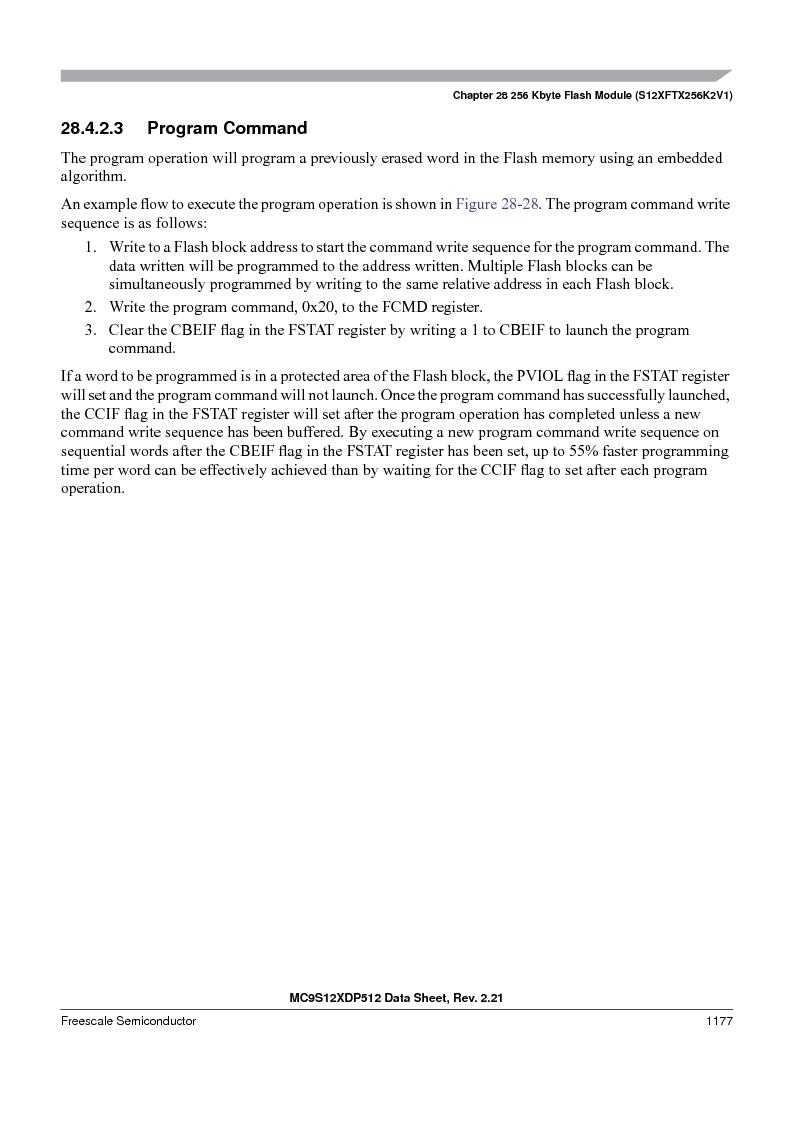 MC9S12XD128MAL ,Freescale Semiconductor厂商,MCU 16BIT 128K FLASH 112-LQFP, MC9S12XD128MAL datasheet预览  第1175页