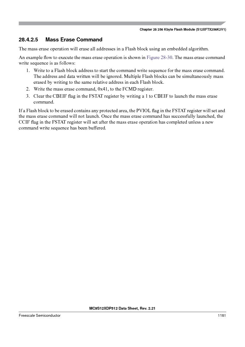 MC9S12XD128MAL ,Freescale Semiconductor厂商,MCU 16BIT 128K FLASH 112-LQFP, MC9S12XD128MAL datasheet预览  第1179页