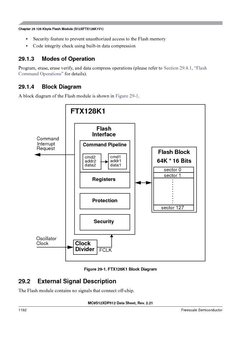 MC9S12XD128MAL ,Freescale Semiconductor厂商,MCU 16BIT 128K FLASH 112-LQFP, MC9S12XD128MAL datasheet预览  第1190页