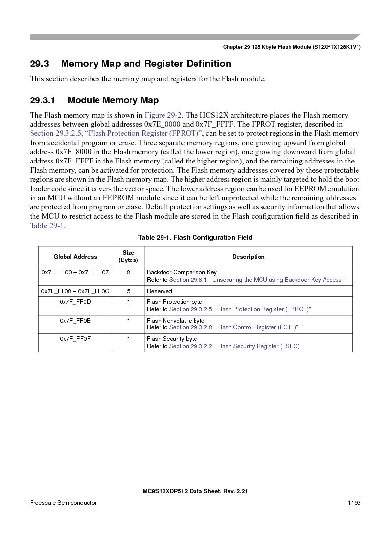 MC9S12XD128MAL ,Freescale Semiconductor厂商,MCU 16BIT 128K FLASH 112-LQFP, MC9S12XD128MAL datasheet预览  第1191页