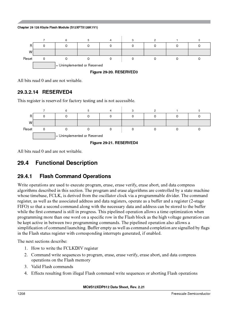 MC9S12XD128MAL ,Freescale Semiconductor厂商,MCU 16BIT 128K FLASH 112-LQFP, MC9S12XD128MAL datasheet预览  第1206页
