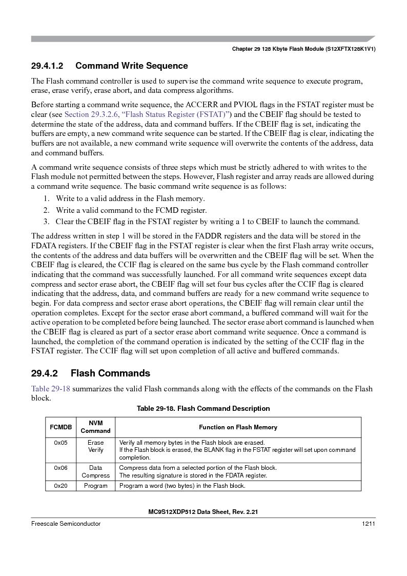 MC9S12XD128MAL ,Freescale Semiconductor厂商,MCU 16BIT 128K FLASH 112-LQFP, MC9S12XD128MAL datasheet预览  第1209页