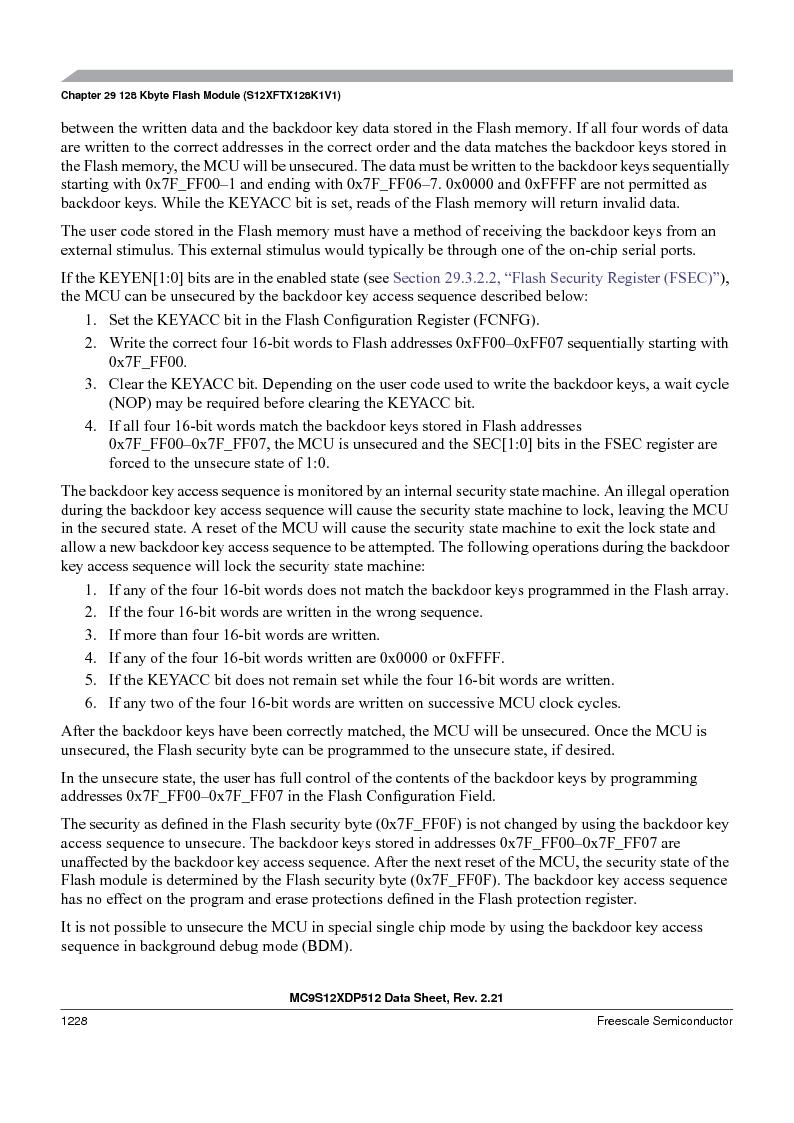 MC9S12XD128MAL ,Freescale Semiconductor厂商,MCU 16BIT 128K FLASH 112-LQFP, MC9S12XD128MAL datasheet预览  第1226页