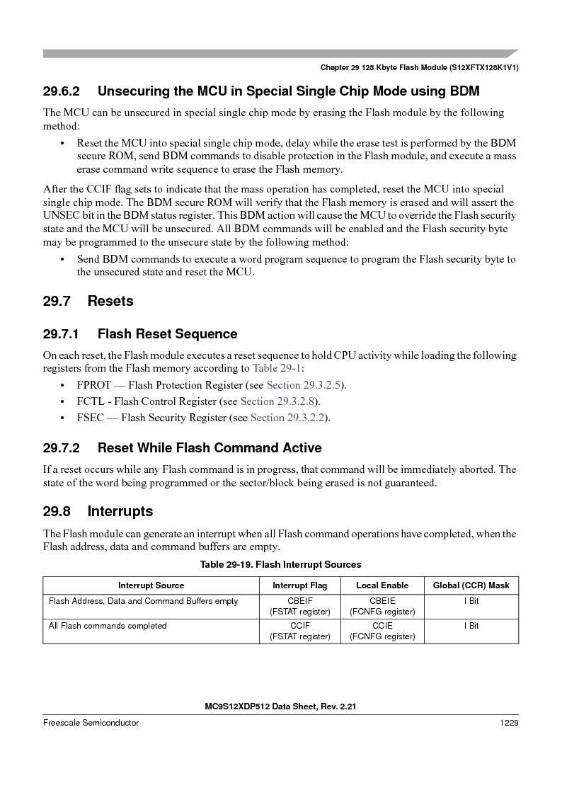 MC9S12XD128MAL ,Freescale Semiconductor厂商,MCU 16BIT 128K FLASH 112-LQFP, MC9S12XD128MAL datasheet预览  第1227页