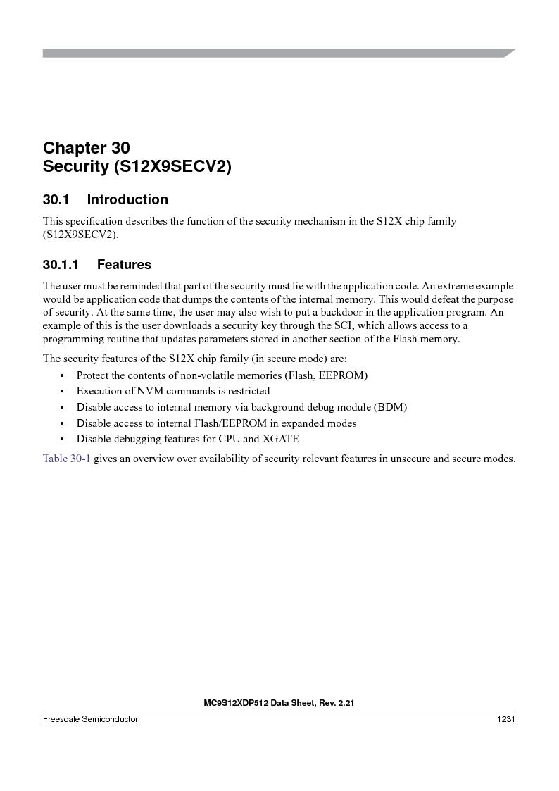 MC9S12XD128MAL ,Freescale Semiconductor厂商,MCU 16BIT 128K FLASH 112-LQFP, MC9S12XD128MAL datasheet预览  第1229页