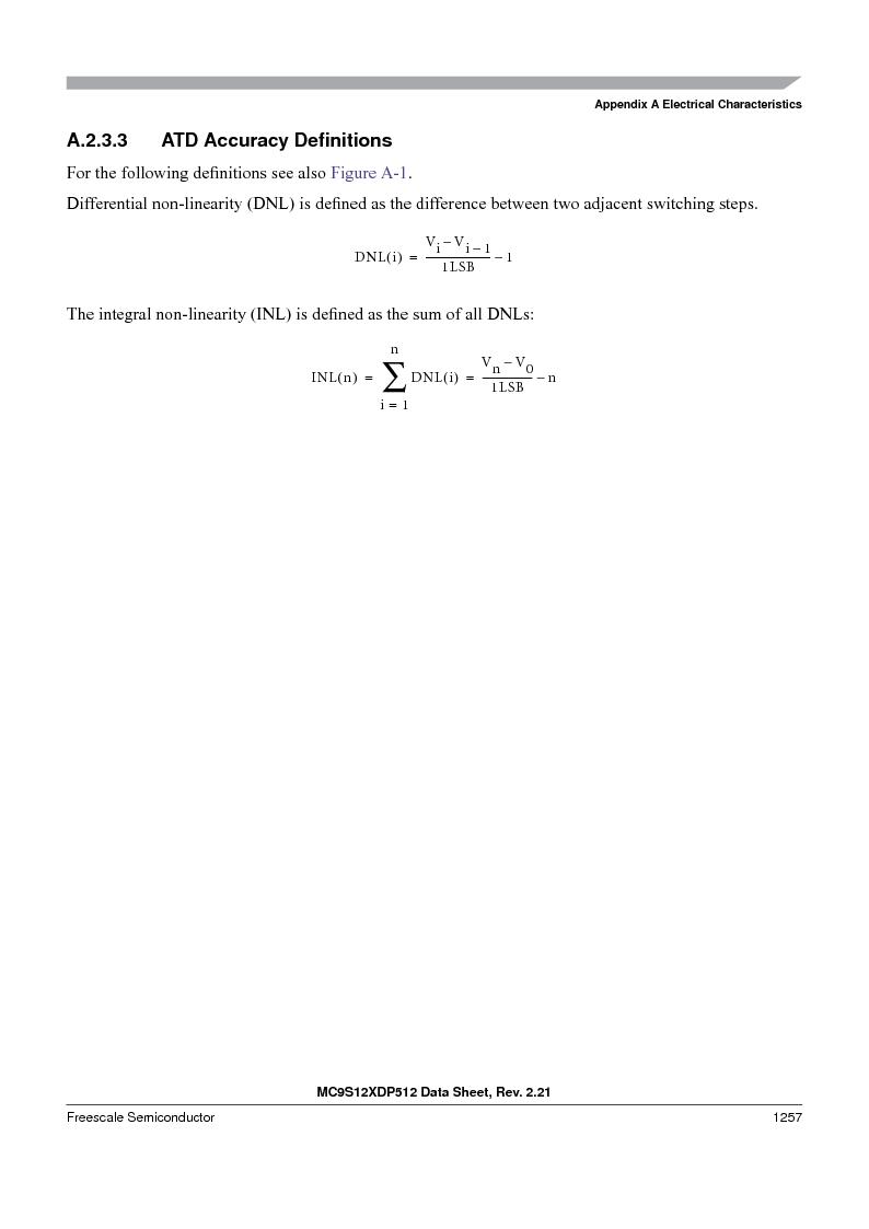MC9S12XD128MAL ,Freescale Semiconductor厂商,MCU 16BIT 128K FLASH 112-LQFP, MC9S12XD128MAL datasheet预览  第1255页