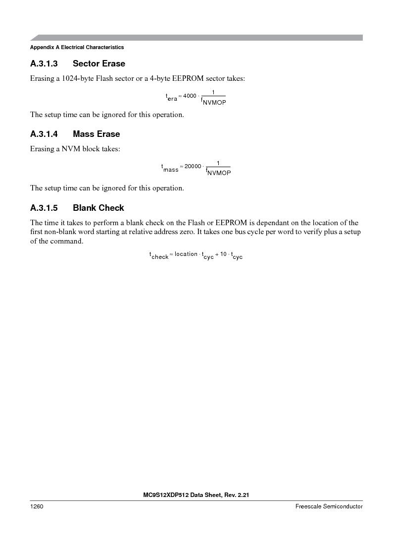 MC9S12XD128MAL ,Freescale Semiconductor厂商,MCU 16BIT 128K FLASH 112-LQFP, MC9S12XD128MAL datasheet预览  第1258页