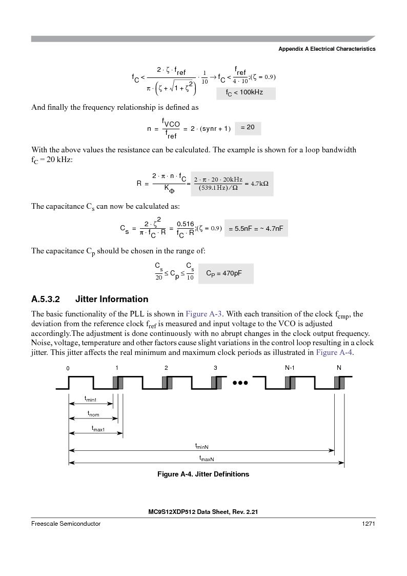 MC9S12XD128MAL ,Freescale Semiconductor厂商,MCU 16BIT 128K FLASH 112-LQFP, MC9S12XD128MAL datasheet预览  第1269页
