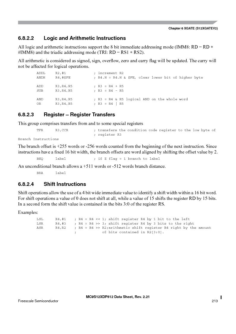MC9S12XD128MAL ,Freescale Semiconductor厂商,MCU 16BIT 128K FLASH 112-LQFP, MC9S12XD128MAL datasheet预览  第213页
