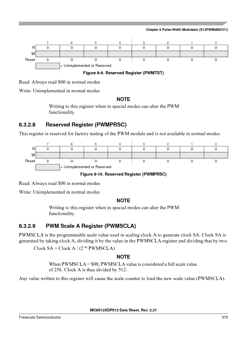 MC9S12XD128MAL ,Freescale Semiconductor厂商,MCU 16BIT 128K FLASH 112-LQFP, MC9S12XD128MAL datasheet预览  第375页