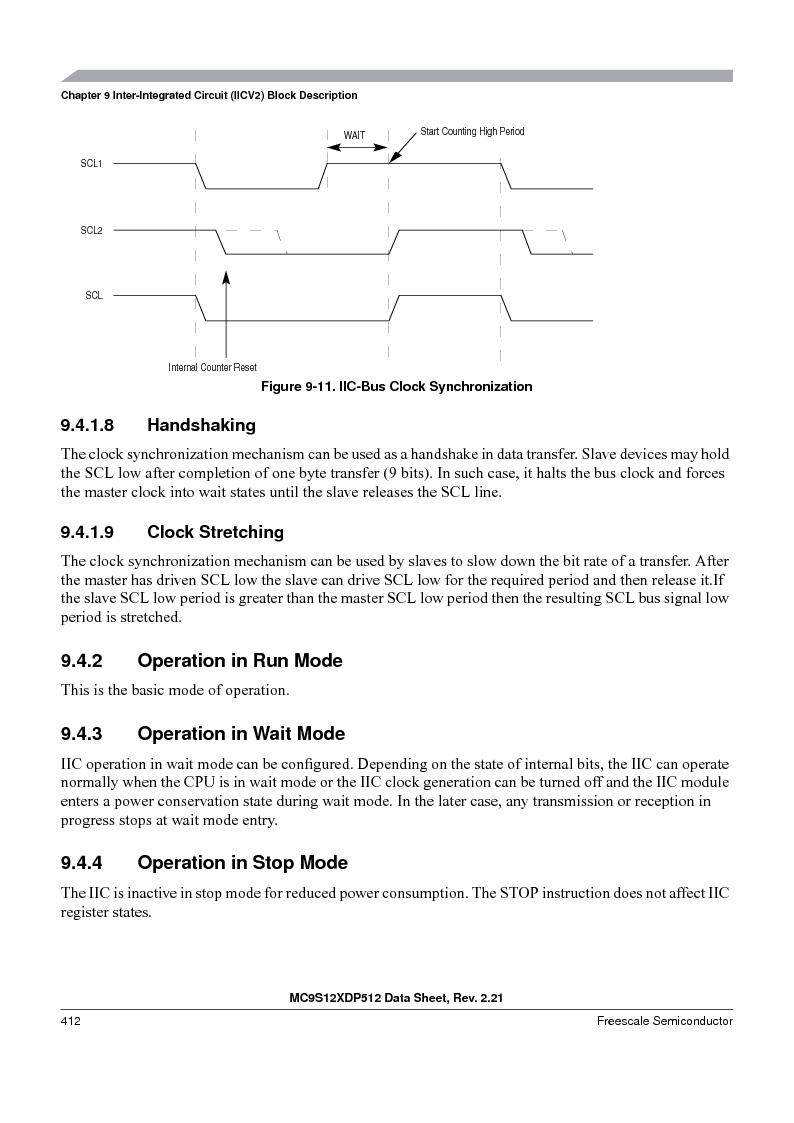 MC9S12XD128MAL ,Freescale Semiconductor厂商,MCU 16BIT 128K FLASH 112-LQFP, MC9S12XD128MAL datasheet预览  第412页