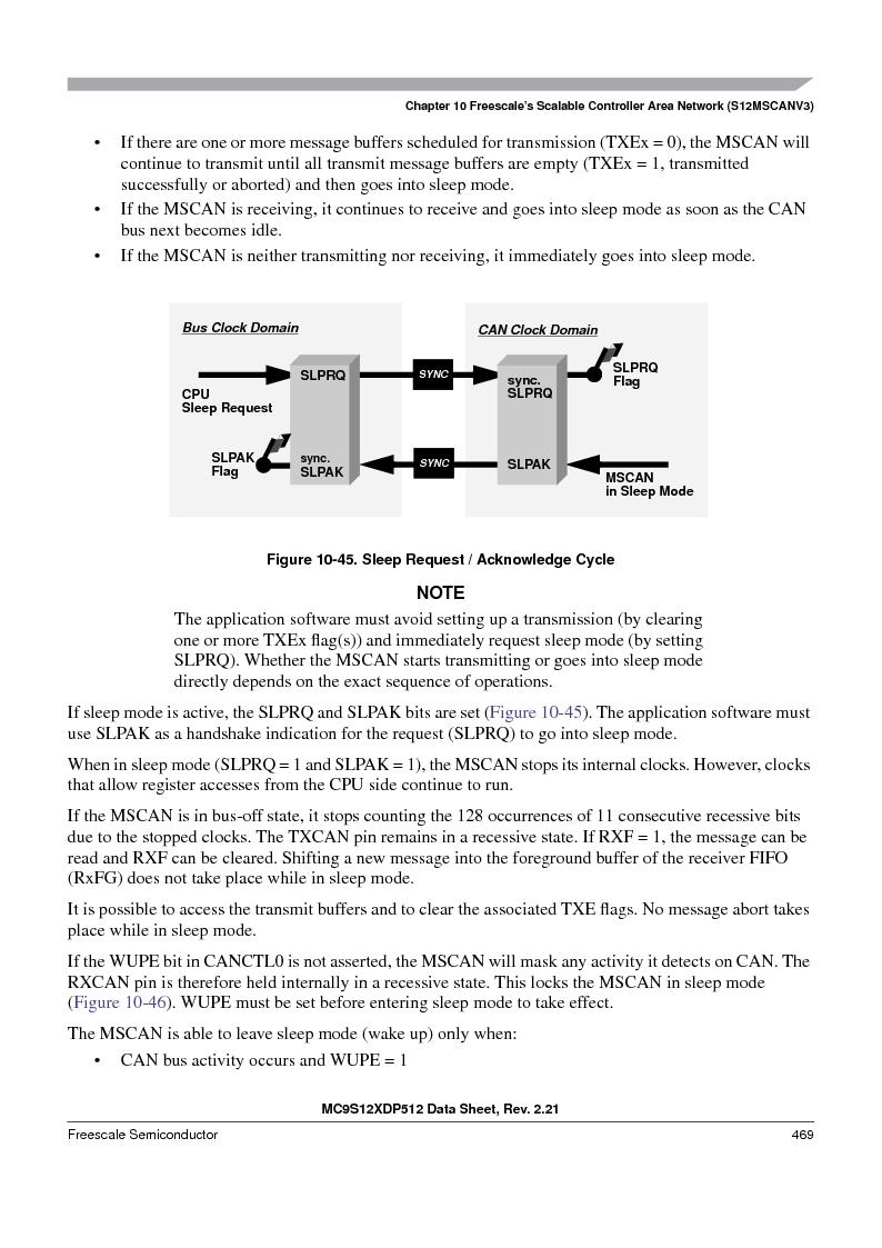 MC9S12XD128MAL ,Freescale Semiconductor厂商,MCU 16BIT 128K FLASH 112-LQFP, MC9S12XD128MAL datasheet预览  第469页