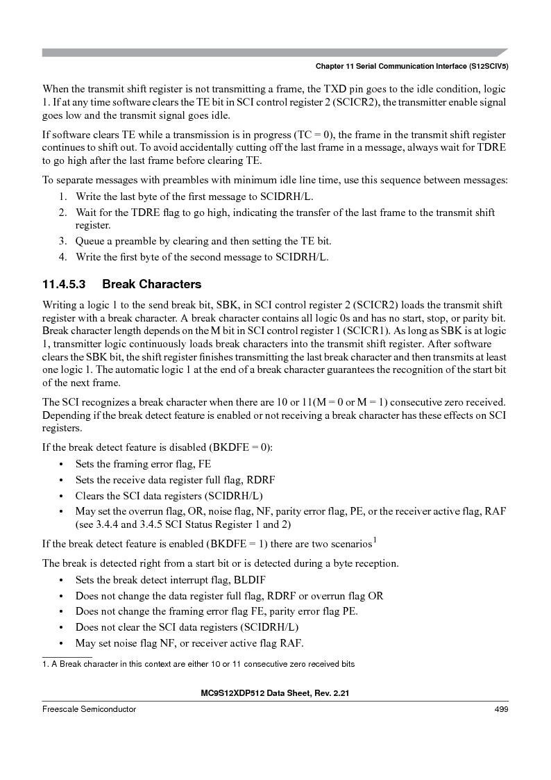 MC9S12XD128MAL ,Freescale Semiconductor厂商,MCU 16BIT 128K FLASH 112-LQFP, MC9S12XD128MAL datasheet预览  第499页
