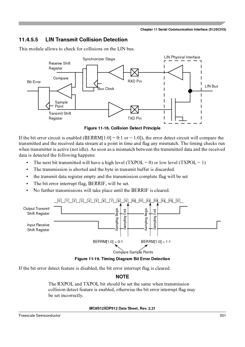 MC9S12XD128MAL ,Freescale Semiconductor厂商,MCU 16BIT 128K FLASH 112-LQFP, MC9S12XD128MAL datasheet预览  第501页