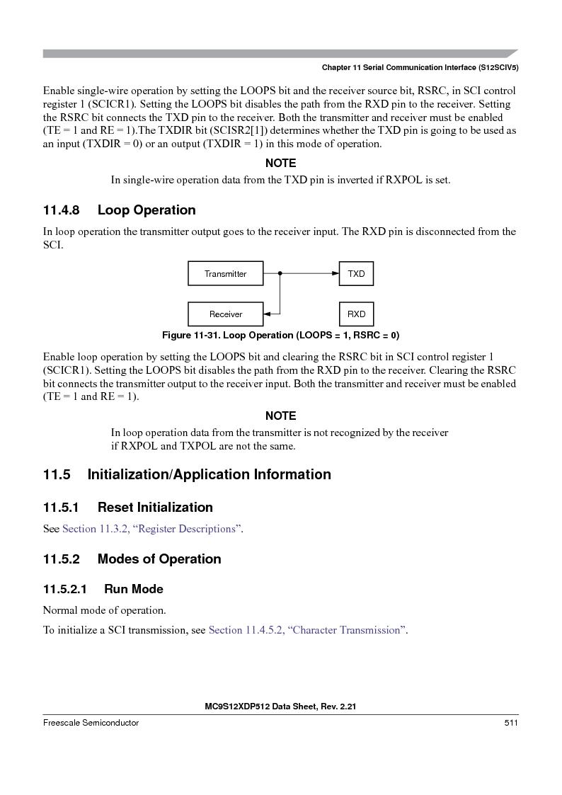 MC9S12XD128MAL ,Freescale Semiconductor厂商,MCU 16BIT 128K FLASH 112-LQFP, MC9S12XD128MAL datasheet预览  第511页