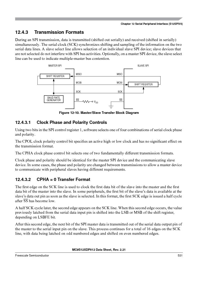 MC9S12XD128MAL ,Freescale Semiconductor厂商,MCU 16BIT 128K FLASH 112-LQFP, MC9S12XD128MAL datasheet预览  第531页
