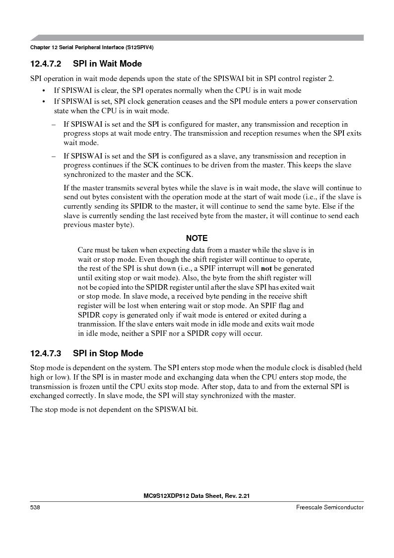 MC9S12XD128MAL ,Freescale Semiconductor厂商,MCU 16BIT 128K FLASH 112-LQFP, MC9S12XD128MAL datasheet预览  第538页
