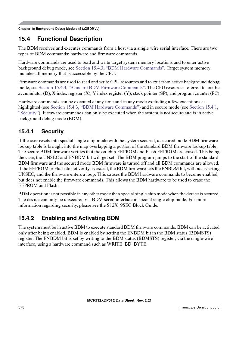 MC9S12XD128MAL ,Freescale Semiconductor厂商,MCU 16BIT 128K FLASH 112-LQFP, MC9S12XD128MAL datasheet预览  第578页