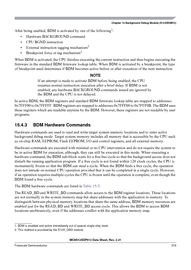 MC9S12XD128MAL ,Freescale Semiconductor厂商,MCU 16BIT 128K FLASH 112-LQFP, MC9S12XD128MAL datasheet预览  第579页