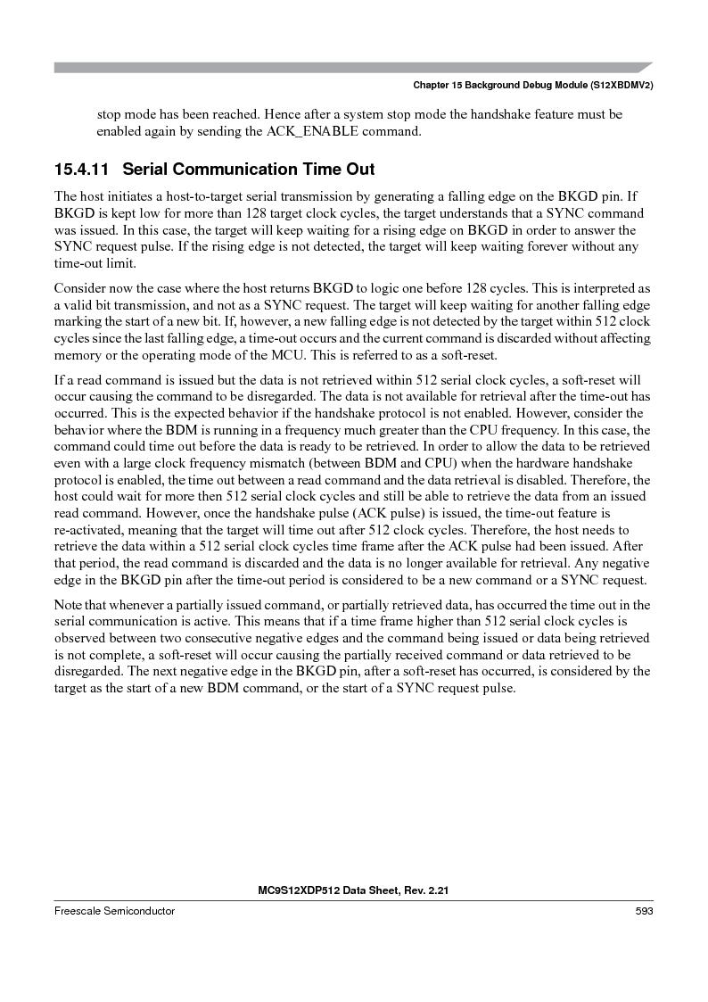 MC9S12XD128MAL ,Freescale Semiconductor厂商,MCU 16BIT 128K FLASH 112-LQFP, MC9S12XD128MAL datasheet预览  第593页