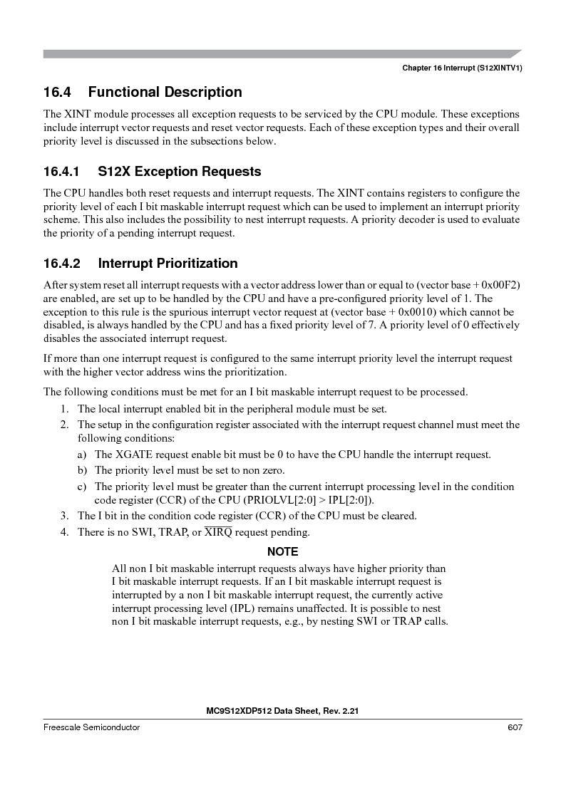 MC9S12XD128MAL ,Freescale Semiconductor厂商,MCU 16BIT 128K FLASH 112-LQFP, MC9S12XD128MAL datasheet预览  第607页
