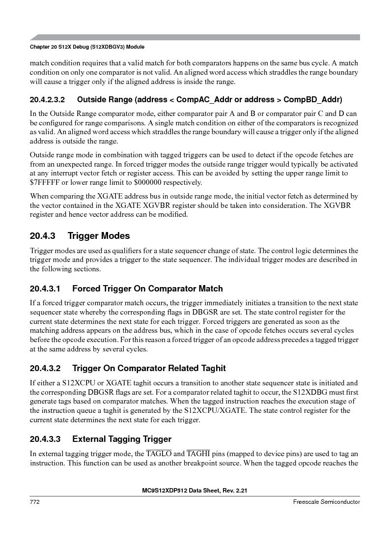 MC9S12XD128MAL ,Freescale Semiconductor厂商,MCU 16BIT 128K FLASH 112-LQFP, MC9S12XD128MAL datasheet预览  第770页