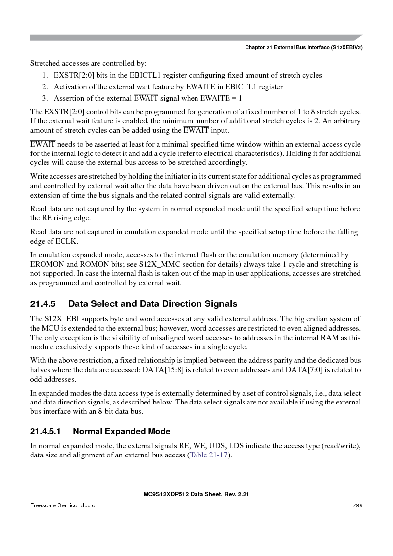 MC9S12XD128MAL ,Freescale Semiconductor厂商,MCU 16BIT 128K FLASH 112-LQFP, MC9S12XD128MAL datasheet预览  第797页
