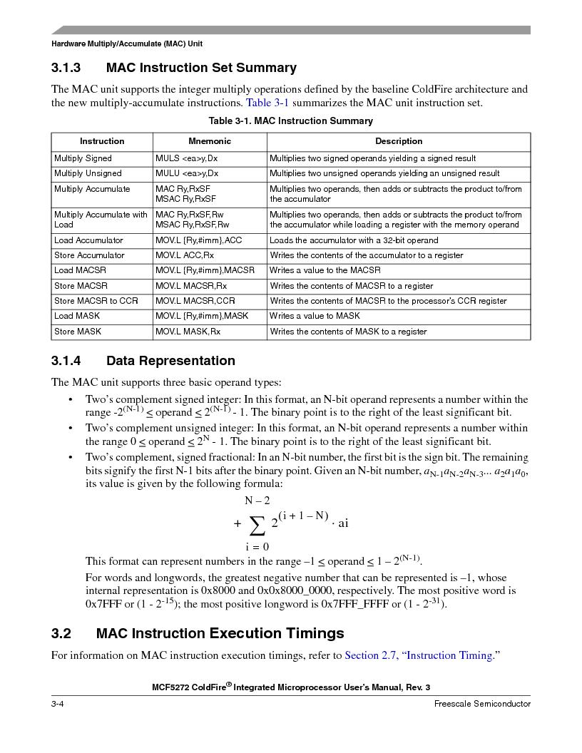 MCF5272VF66R2 ,Freescale Semiconductor厂商,IC MCU 32BIT 66MHZ 196-MAPBGA, MCF5272VF66R2 datasheet预览  第102页