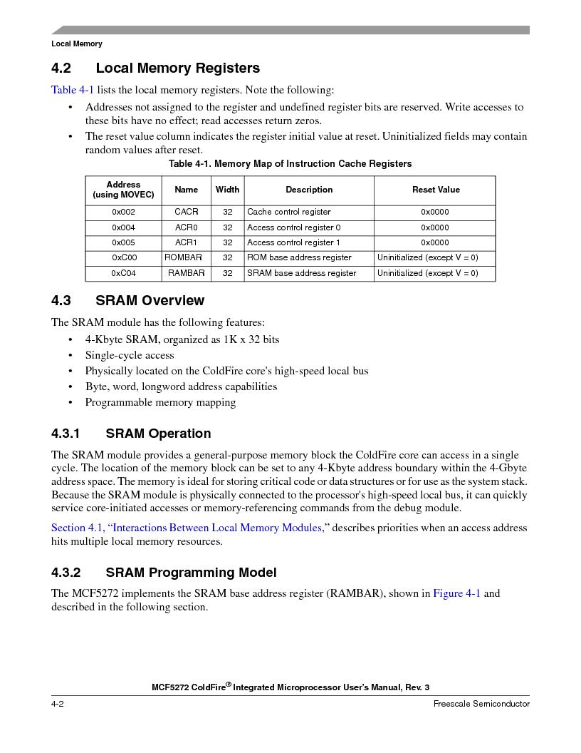 MCF5272VF66R2 ,Freescale Semiconductor厂商,IC MCU 32BIT 66MHZ 196-MAPBGA, MCF5272VF66R2 datasheet预览  第104页
