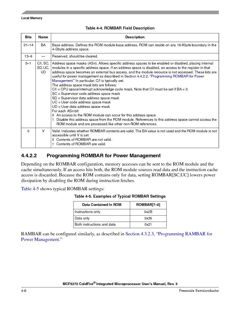 MCF5272VF66R2 ,Freescale Semiconductor厂商,IC MCU 32BIT 66MHZ 196-MAPBGA, MCF5272VF66R2 datasheet预览  第108页