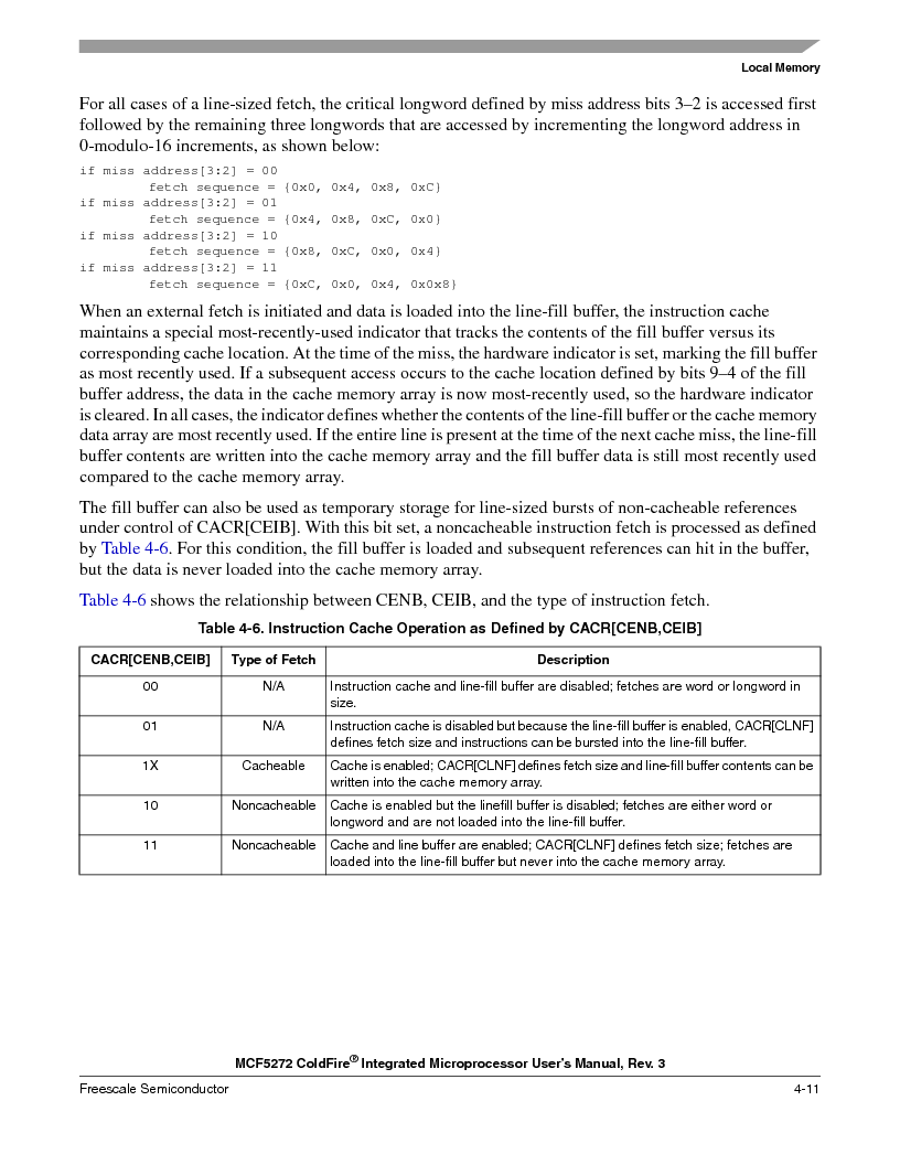 MCF5272VF66R2 ,Freescale Semiconductor厂商,IC MCU 32BIT 66MHZ 196-MAPBGA, MCF5272VF66R2 datasheet预览  第113页