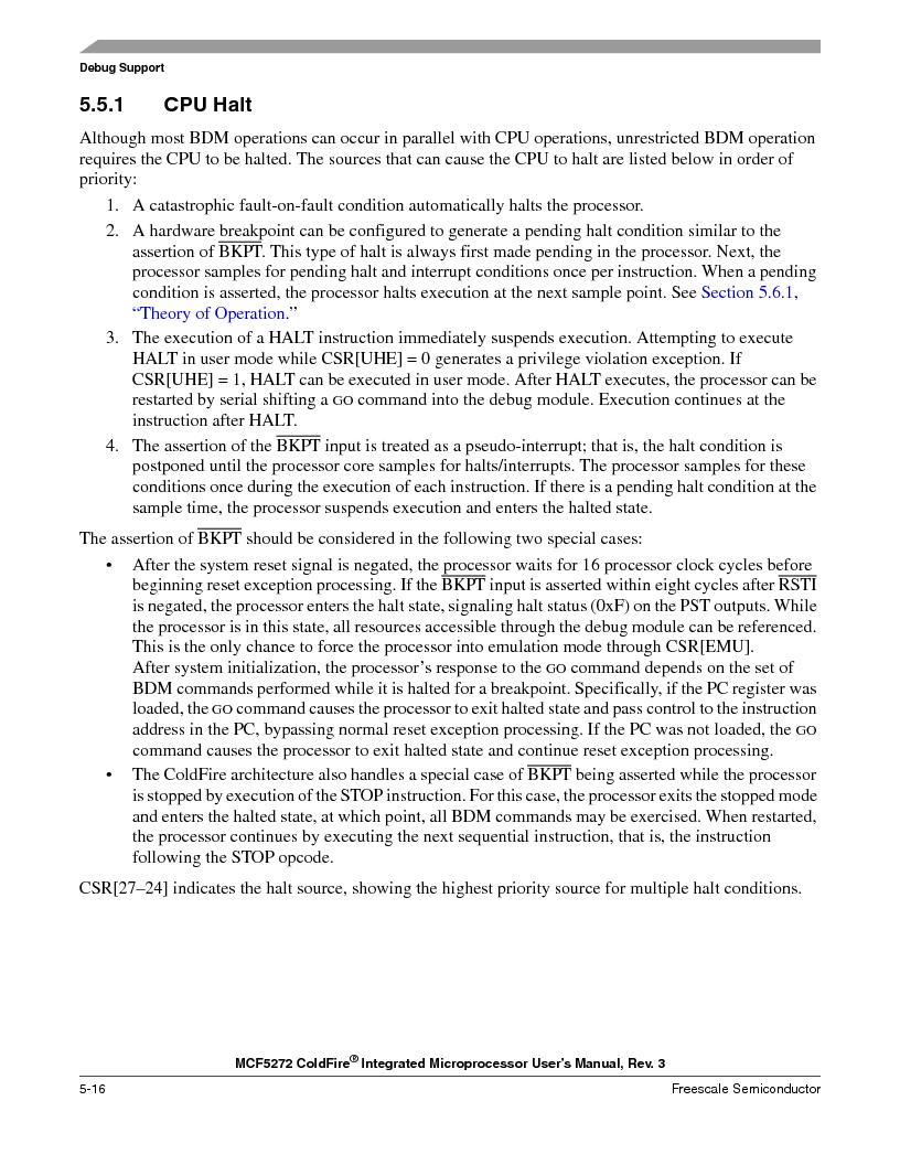 MCF5272VF66R2 ,Freescale Semiconductor厂商,IC MCU 32BIT 66MHZ 196-MAPBGA, MCF5272VF66R2 datasheet预览  第134页