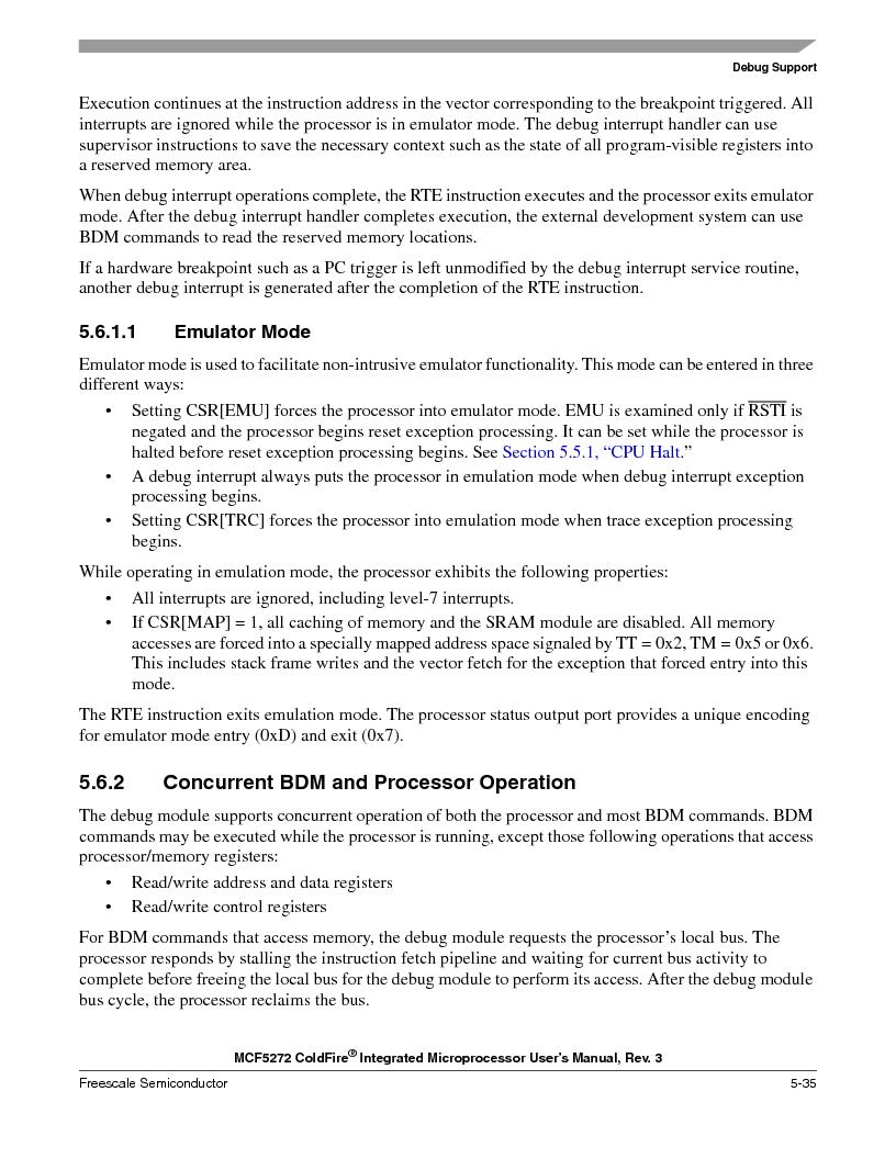 MCF5272VF66R2 ,Freescale Semiconductor厂商,IC MCU 32BIT 66MHZ 196-MAPBGA, MCF5272VF66R2 datasheet预览  第153页