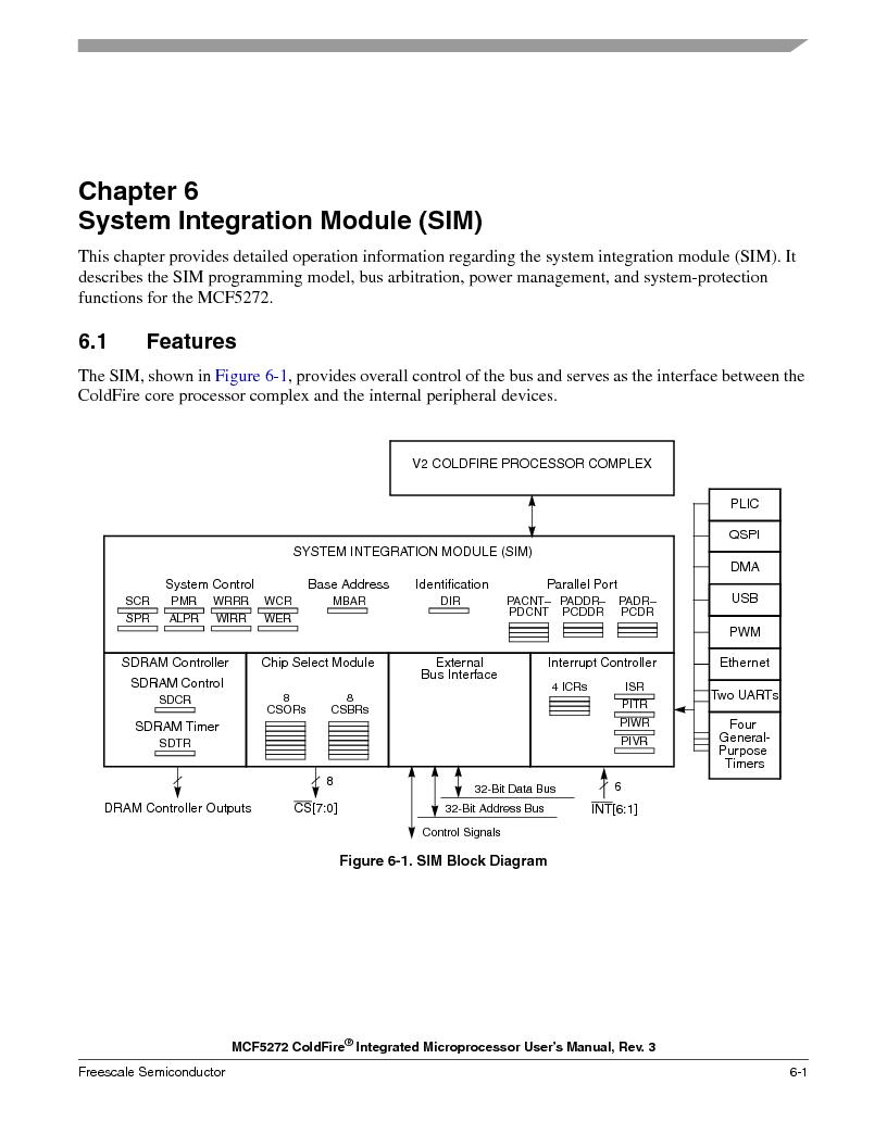 MCF5272VF66R2 ,Freescale Semiconductor厂商,IC MCU 32BIT 66MHZ 196-MAPBGA, MCF5272VF66R2 datasheet预览  第161页