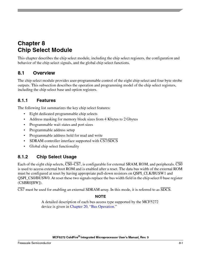 MCF5272VF66R2 ,Freescale Semiconductor厂商,IC MCU 32BIT 66MHZ 196-MAPBGA, MCF5272VF66R2 datasheet预览  第185页