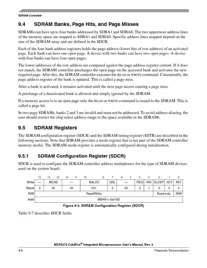 MCF5272VF66R2 ,Freescale Semiconductor厂商,IC MCU 32BIT 66MHZ 196-MAPBGA, MCF5272VF66R2 datasheet预览  第196页
