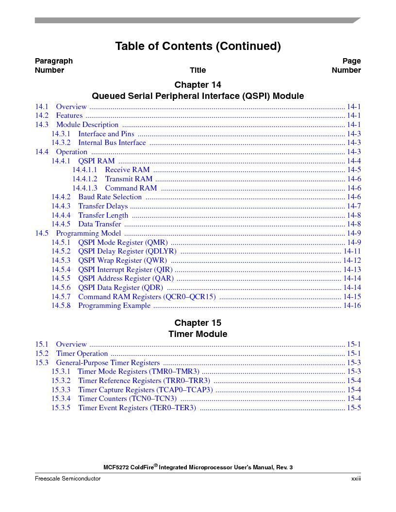 MCF5272VF66R2 ,Freescale Semiconductor厂商,IC MCU 32BIT 66MHZ 196-MAPBGA, MCF5272VF66R2 datasheet预览  第23页