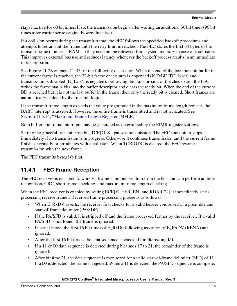 MCF5272VF66R2 ,Freescale Semiconductor厂商,IC MCU 32BIT 66MHZ 196-MAPBGA, MCF5272VF66R2 datasheet预览  第223页