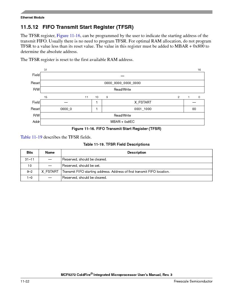 MCF5272VF66R2 ,Freescale Semiconductor厂商,IC MCU 32BIT 66MHZ 196-MAPBGA, MCF5272VF66R2 datasheet预览  第240页