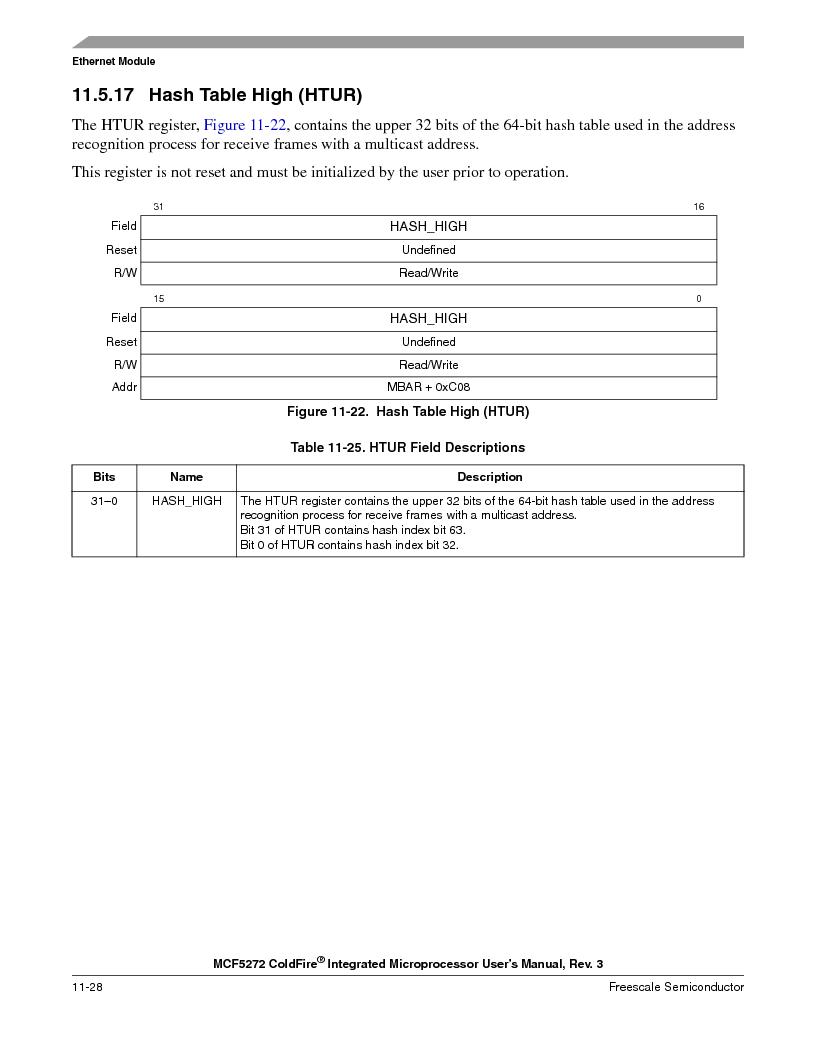 MCF5272VF66R2 ,Freescale Semiconductor厂商,IC MCU 32BIT 66MHZ 196-MAPBGA, MCF5272VF66R2 datasheet预览  第246页