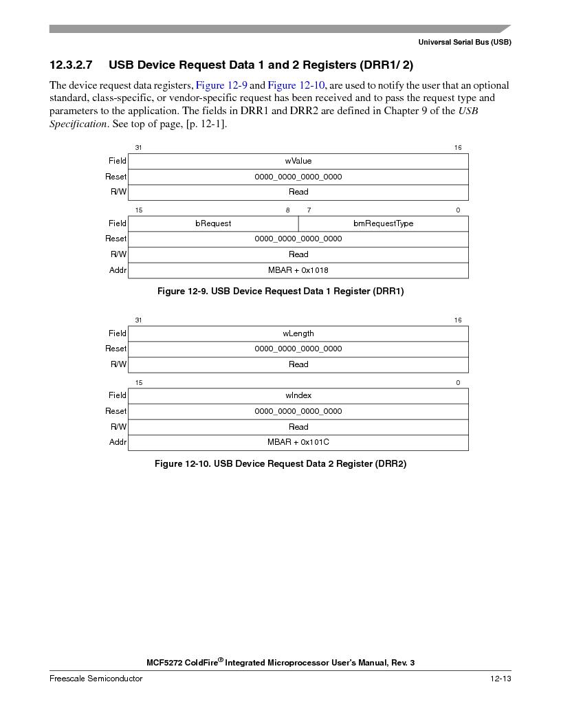 MCF5272VF66R2 ,Freescale Semiconductor厂商,IC MCU 32BIT 66MHZ 196-MAPBGA, MCF5272VF66R2 datasheet预览  第271页