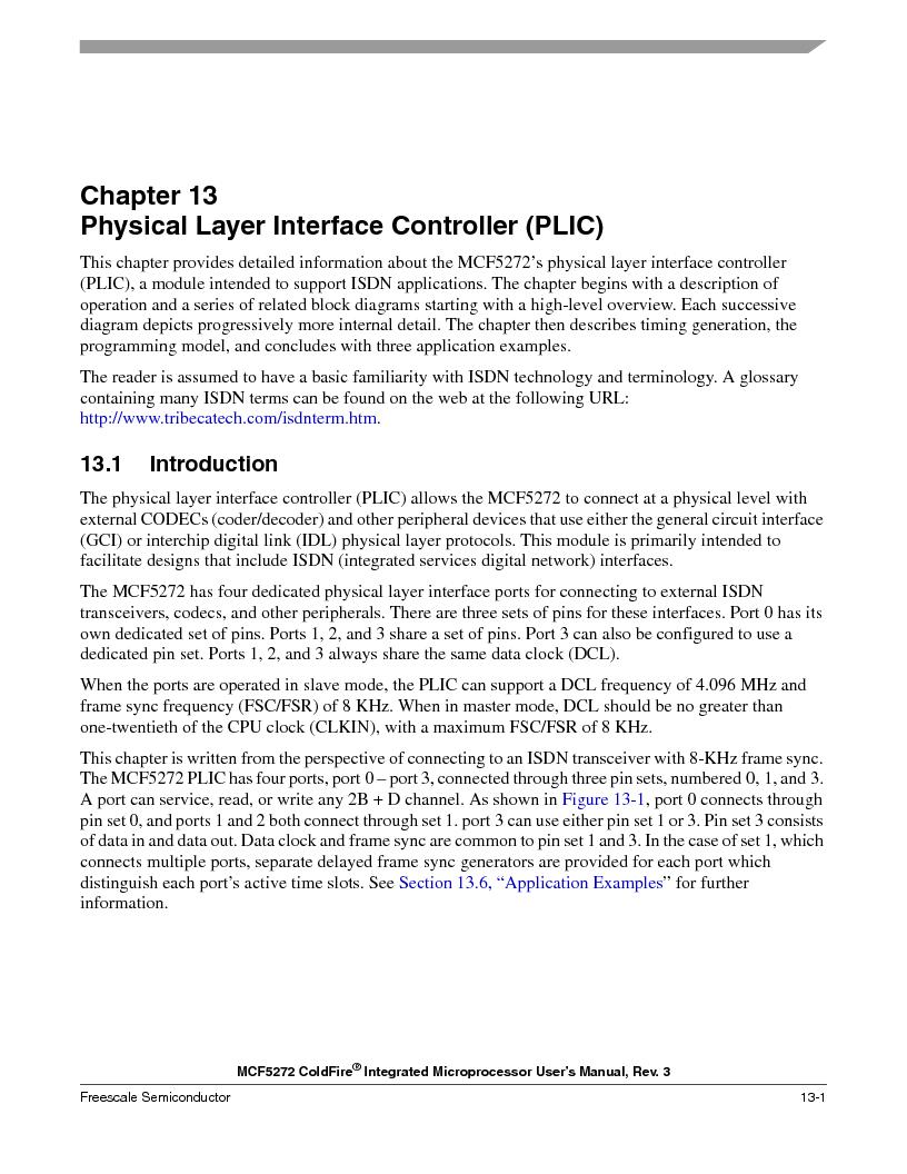 MCF5272VF66R2 ,Freescale Semiconductor厂商,IC MCU 32BIT 66MHZ 196-MAPBGA, MCF5272VF66R2 datasheet预览  第297页